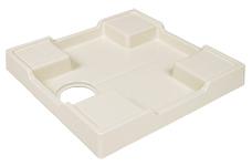 商品追加値下げ在庫復活 洗濯機用 防水パン 正規激安 修繕用 アイボリーホワイトTP640-NW1 テクノテック