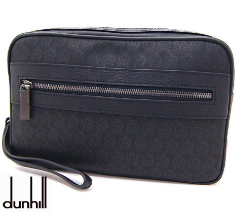 dunhill ダンヒル L3K791A WINDSOR BLACK ウィンザー メンズ用 セカンドバッグ ブラック【送料無料】【05P03Dec16】