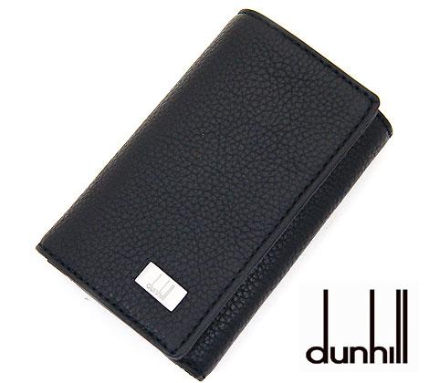 ポケットが付いた機能的なキーケースです シンプルなデザインでプレゼントにもオススメです dunhill ショッピング ダンヒル 19F2950AV001R AVORITIES アボリティーズ レザー 6連キーケース 引出物 ポケット付き メンズ用 L2R950A ブラック 送料無料