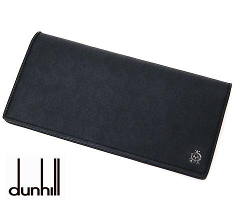 dunhill  ダンヒル WINSOR BLACK ウィンザーブラック 小銭入れ付 長財布 ブラック L2PA10A【送料無料】【05P03Dec16】