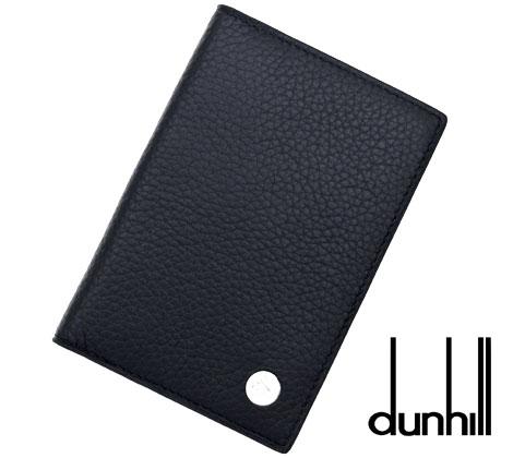dunhill  ダンヒル BOSTON ボストン カードケース/名刺入れ ネイビー L2W347N【送料無料】