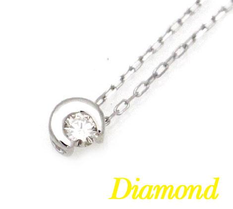 K10WG ホワイトゴールド ダイヤモンド DIAMOND アクセサリー ペンダント ネックレス ラッピング無料 TP23202L 035695 【送料無料】