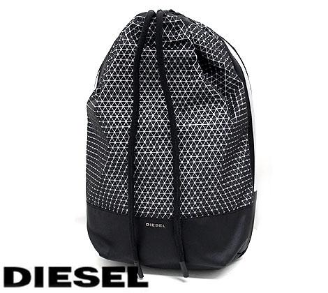 DIESEL ディーゼル X04598 P1256 H1145 M-MOVE TO BACK 2 メンズ用 リュックサック バックパック BLACK ブラック 15インチ対応 ラッピング不可【送料無料】