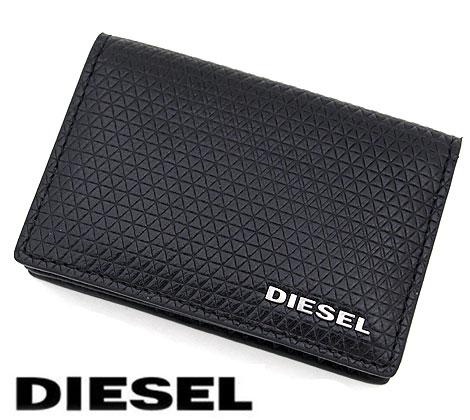 DIESEL ディーゼル X04770 P1356 T8013 DUCKEZ 名刺入れ カードケース ブラック【送料無料】