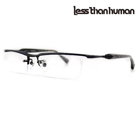Less than human レスザンヒューマン Andrei.C 195 Limited メガネフレーム 伊達眼鏡 限定カラー ブラック 【送料無料】
