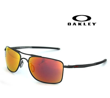 OAKLEY オークリー サングラス GAUGE 8M ゲージ8M 57mm マットカーボン×ルビーイリジウム OO4124-0357 正規商品【送料無料】