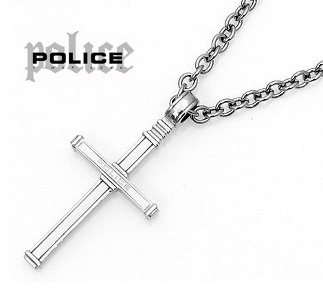 POLICE ポリス 24175PSS01 エデン クロス ネックレス ペンダント【送料無料】
