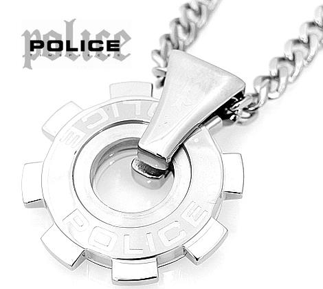 POLICE  ポリス 24232PSS01 ギアモチーフ  REACTOR ペンダント/ネックレス ステンレス【送料無料】