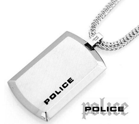 サイズは大きく過ぎず、男女兼用で御使い頂けます。ネックレスの調整も可能です☆ POLICE ポリス 24920PSS-A PURITY シルバータグ ネックレス/ペンダント【送料無料】