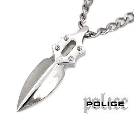 POLICE ポリス キャスティングアロー IMPACT ステンレス シルバー ネックレス/ペンダント 20575PSS02【送料無料】