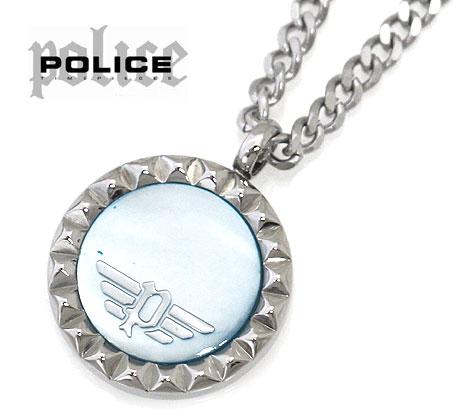 POLICE ポリス 26515PSS01 VERNAZZA ネックレス ペンダント アクセサリー シルバー×ブルー 【送料無料】