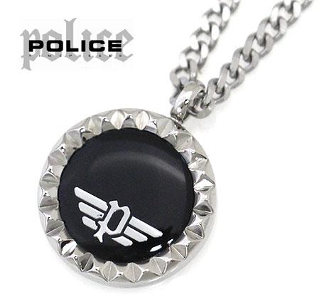 POLICE ポリス 26515PSS02 VERNAZZA ネックレス ペンダント アクセサリー シルバー×ブラック 【送料無料】