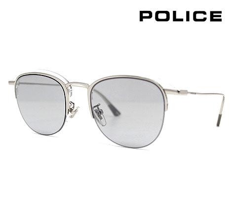 POLICE ポリス SPL784 579X 50 サングラス FLOAT2 フロート2 シルバー×クリア ブロー/サーモント 正規品【送料無料】