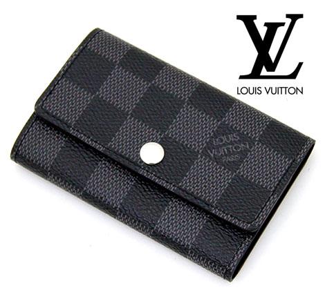 LOUIS VUITTON  ルイ ヴィトン N62662 ダミエグラフィット 6連キーケース ミュルティクレ6【送料無料】