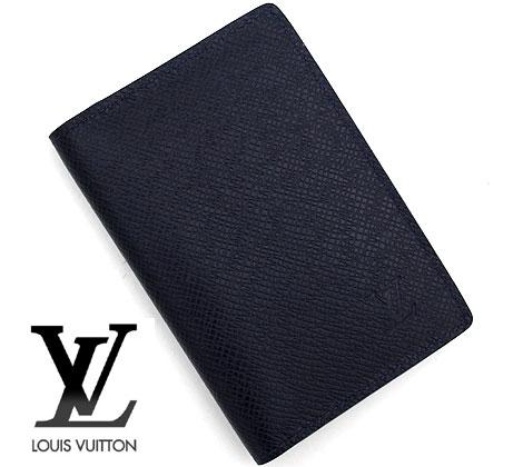 コンパクトでかさ張らずポケットインにも最適なカードケースです LOUIS VUITTON ルイヴィトン M30535 タイガ 名刺入れ ドゥ ブルーマリーヌ 実物 買い物 送料無料 オーガナイザー カードケース ポッシュ