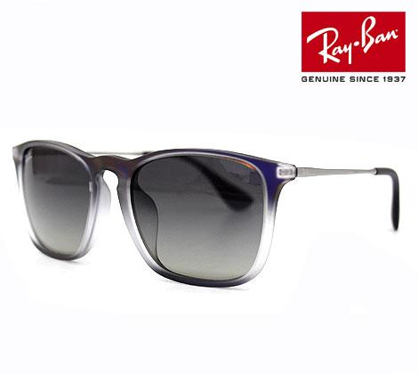 Ray Ban レイバン RB4187F 622311 54 サングラス CHRIS ブラック グレーグラディエント  正規品【送料無料】