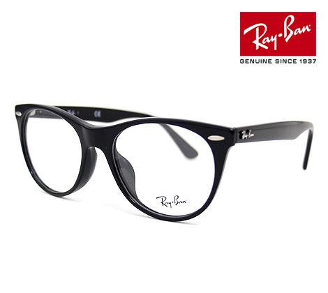 Ray Ban レイバン RX2185VF 2000 52 伊達眼鏡 WAYFARER II OPTICS メガネフレーム ウェイファーラーII ボストン ブラック 正規品【送料無料】