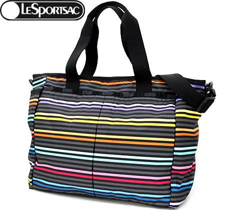 LeSportsac レスポートサック 7532 D435 RYAN BABY BAG トートバッグ ベビーバッグ LeStripe Black【送料無料】【ラッピング不可】