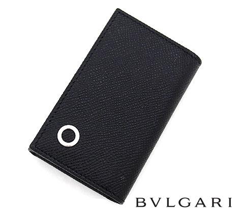 BVLGARI ブルガリ 282234 BB Manブルガリ・ブルガリ キーホルダー スモール 6連キーケース ブラック BLACK【送料無料】