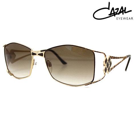 CAZAL カザール 9061-003 サングラス ゴールド ヒョウ柄 メンズ レディース ユニセックス 正規品【送料無料】