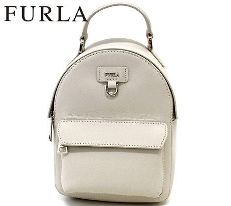 FURLA フルラ 998408 FAVOLA MINI BACKPACK バックパック リュックサック PERLA ホワイト  送料無料