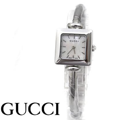 GUCCI  グッチ レディース ウォッチ 腕時計 1900 バングルタイプ シルバー×ホワイトシェル文字盤 YA019518【送料無料】