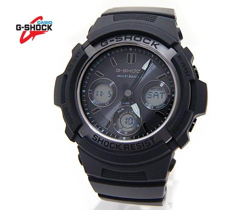 ブラックをテーマにしたNewモデル CASIO カシオ G-SHOCK AWG-M100SBB-1AJF 送料無料 入手困難 デジアナ ブラック ソーラー電波 記念日 腕時計