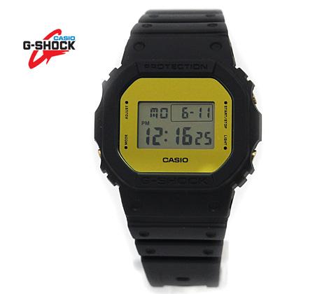 CASIO カシオ G-SHOCK 腕時計 DW-5600BBMB-1JF Metallic Mirror Face ブラック×ゴールドミラー【送料無料】
