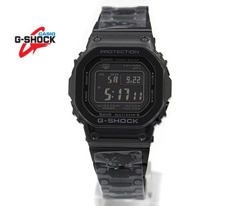 CASIO カシオ G-SHOCK GMW-B5000GD-1JF ブラックIP フルメタル デジタルソーラー電波 スマートフォンリンク【送料無料】