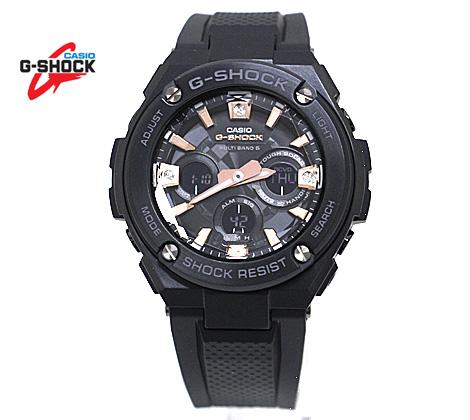 CASIO カシオ G-SHOCK G-STEEL 腕時計 GST-W310BDD-1AJF PRECIOUS HEART SELECTION ブラック×ローズゴールド 樹脂バンド 電波ソーラー【送料無料】