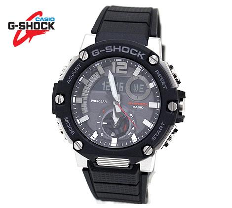 カーボンコアガード構造を採用したG-STEELからラギッドスタイルのNewモデルが登場☆ CASIO 最安値 今ダケ送料無料 G-SHOCK GST-B300-1AJF カシオ G-STEEL 腕時計 Bluetooth カーボンコアガード構造 送料無料 電波ソーラー ブラック ブラック×シルバー
