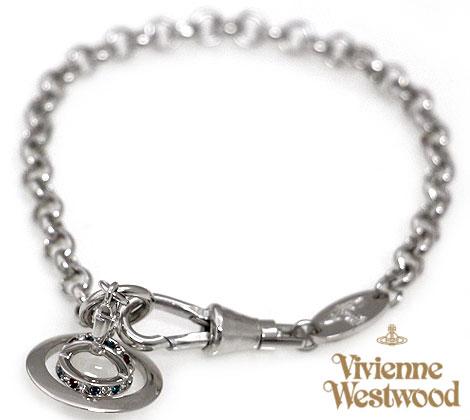 VivienneWestwood ヴィヴィアンウエストウッド 741467B/1 PETITE ORB RUTHE アクセサリー プチ オーブ ブレスレット シルバー 送料無料