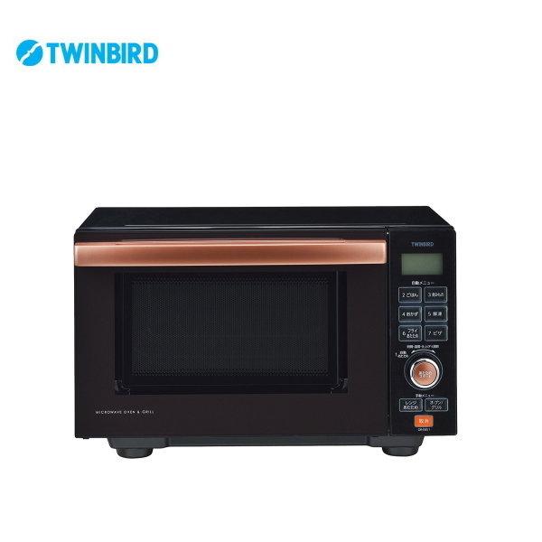センサー付フラットオーブンレンジ DR-E851BR 【条件付送料無料】 ツインバード(TWINBIRD) 調理器具