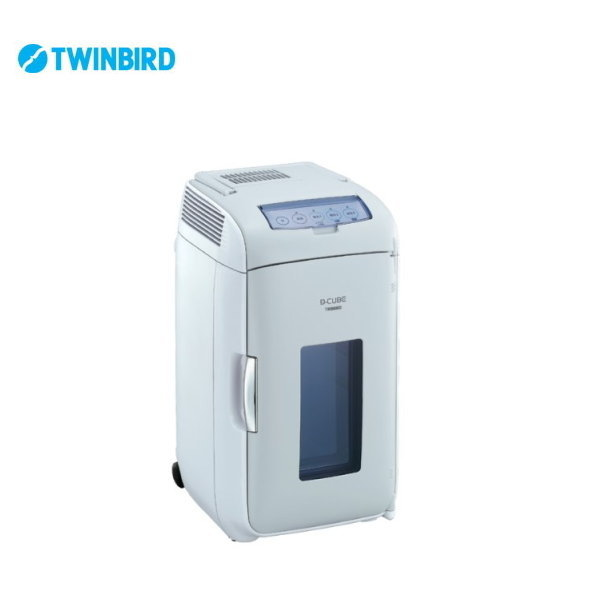 2電源式ポータブル電子適温ボックス HR-DB07GY 【条件付送料無料】 ツインバード(TWINBIRD) 車載可能保温庫/冷蔵庫