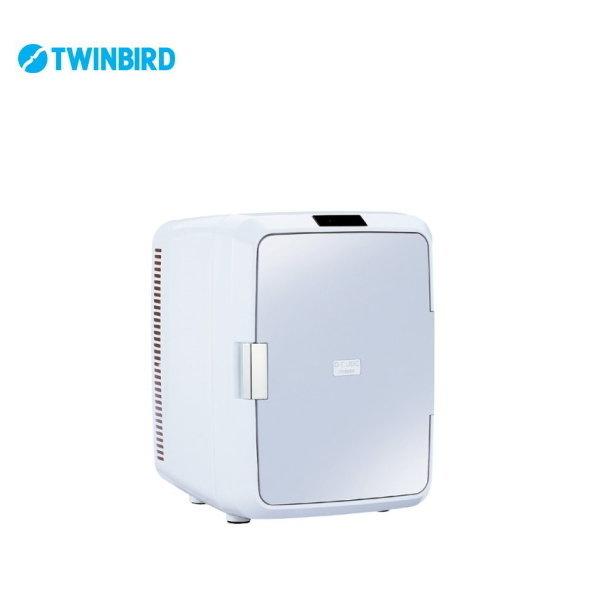 2電源式ポータブル電子適温ボックス HR-DB08GY 【条件付送料無料】 ツインバード(TWINBIRD) 車載可能保温庫/冷蔵庫