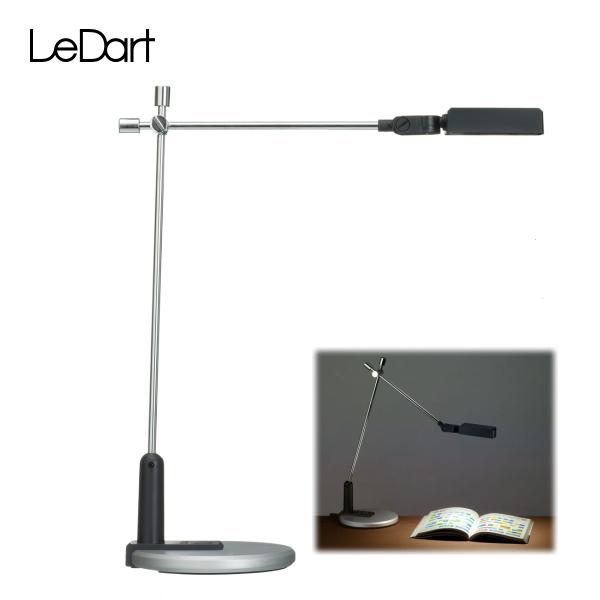 LeDart ハイパワーLED デスクライト LD-1 BK ブラック(YT7001BK)【条件付送料無料】 目に優しい!地球に優しい!省エネ・エコの人気LEDスタンド・ギフト、贈答にも!