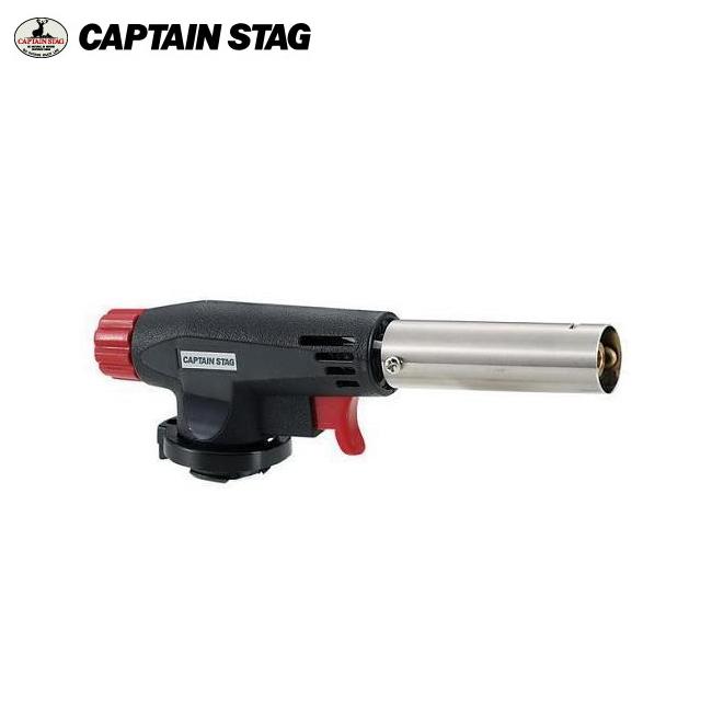 对供M-6325不利条件煤气焊枪<盒液化气瓶使用的>船长标签(CAPTAIN STAG)户外用品、露营用品、烤肉、木炭对着火液燃烧器火力