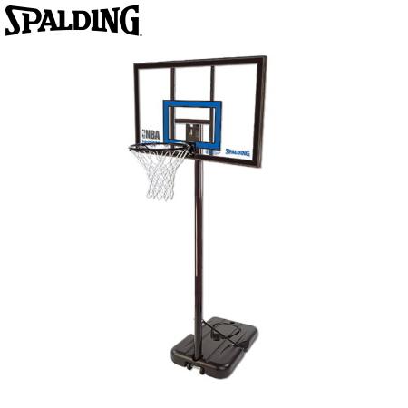スポルディング バスケットゴール ハイライトアクリルポータブル 【条件付送料無料】 SPALDING 77455CN/U-7108 ※返品・キャンセル不可商品