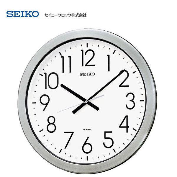セイコー(SEIKO) 大型クオーツ掛け時計 KH407S 【条件付送料無料】 防湿・防塵型オフィスタイプ掛時計/壁掛け時計/贈答品・贈り物/プレゼント・ギフト/お祝い返し/お返し/新築祝い/新築内祝い/事務所/開業祝い/音がしないスイープセコンド・連続秒針