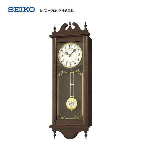 セイコー(SEIKO) チャイム&ストライク RQ309A 【条件付送料無料】 報時掛時計・クオーツ掛け時計・振り子時計/木製枠