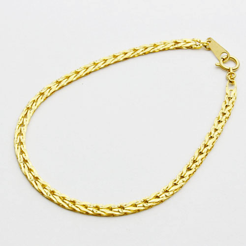 gucci him bracelets jewelry solid fine for bracelet gold yellow link