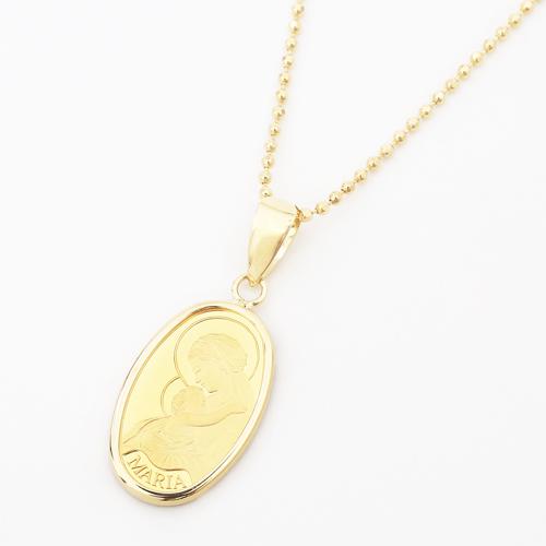 NEW!!◇数量限定特別価格!!◇スイス製 純金 1g コイン ペンダントシンプル オーバル マリア【smtb-k】