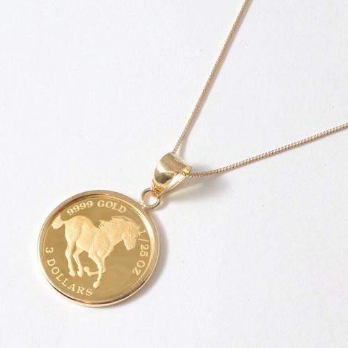 Jewelry walk shinsaibashi rakuten global market 53 off solid gold horse coin gold coin pendant aloadofball Images