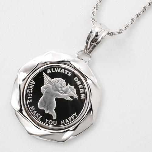 Jewelry walk shinsaibashi rakuten global market switzerland pure switzerland pure platinum coins gold coin pendants angel aloadofball Choice Image