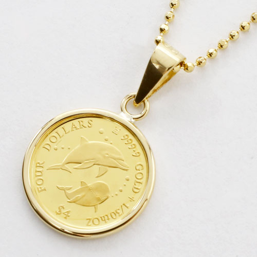 Jewelry walk shinsaibashi rakuten global market new dolphin dolphin 2017 limited pure gold dolphin coin gold coin pendant gold coin 18 gold 24 gold gold pure gold aloadofball Gallery