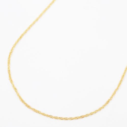 純金(K24)質の高さが際立つこだわりの純金 2g ジュエリー!  ◇信頼 高品質 日本製◇純金ネックレス(K24)ゆったり45cmサイズ・スクリュー【smtb-k】