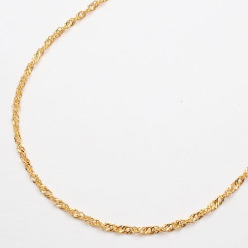 質の高さが際立つ純金たっぷり3.2g!  造幣局検定刻印入純金 ネックレス(K24)42cm黄金 スクリュー チェーン【smtb-k】