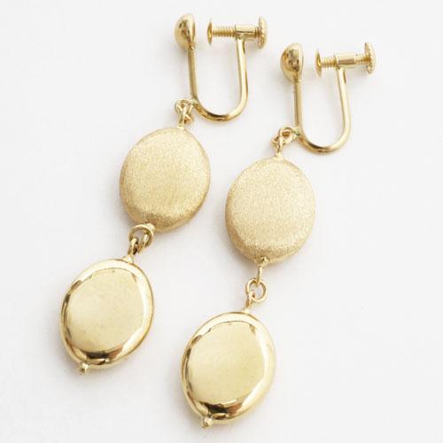 18 karat yellow gold earrings modeschmuck. Black Bedroom Furniture Sets. Home Design Ideas