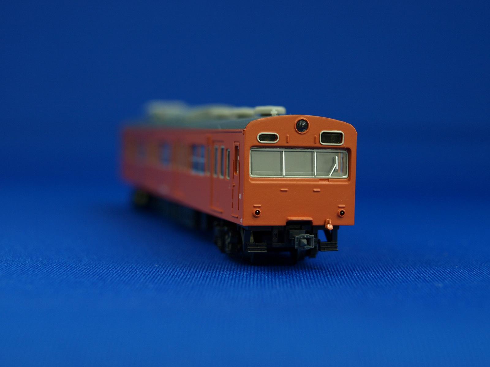 Nゲージ マイクロエース A0446  国鉄103系 中央線・オレンジ・冷改車基本7両セット