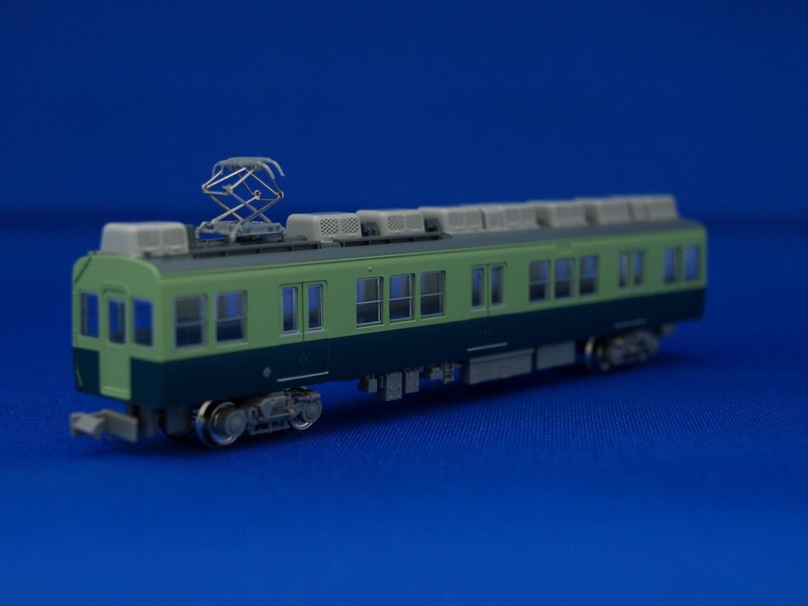 Nゲージ グリーンマックス GM4126  京阪2400系2次車旧塗装 3両増結セット(動力車なし)